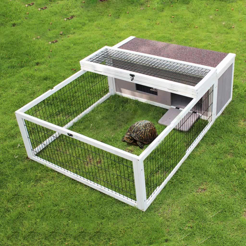 ROCKEVER Tortoise House Habitat