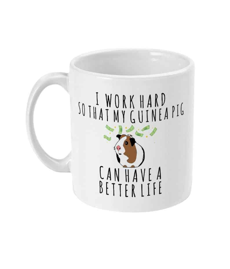 best gifts for guinea pig lovers coffee mug