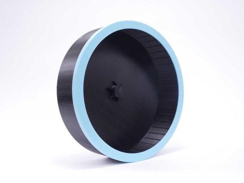 Lunar Sugar Glider Wheel Black Baby Blue